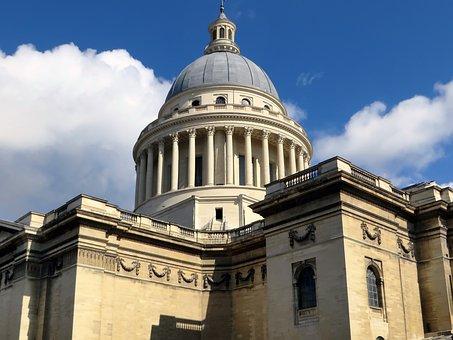 Paris, Pantheon, Museum, Tomb, Shows, Temple Republican