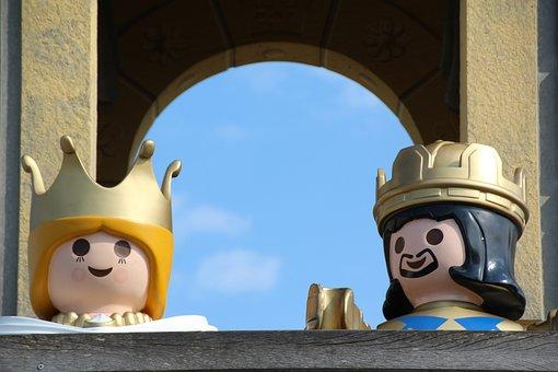 Playmobil, Children's Day, King, Queen, Children
