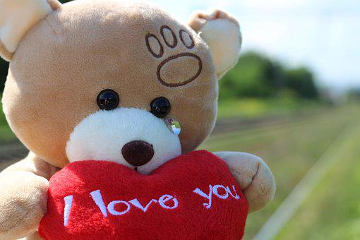 Stop Children Suicide, Teddy Bear Crying, Railway
