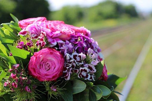 Floral Bouquet, Railway, Stop Child Suicide