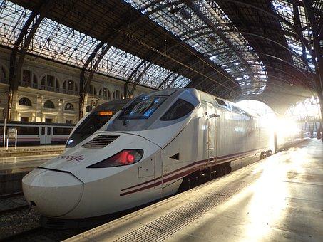 Train, Station, Tgv, Transport, Track