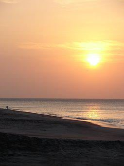Sunset, Sun, Ocean, Panama, Nature, Sky, Summer, Travel