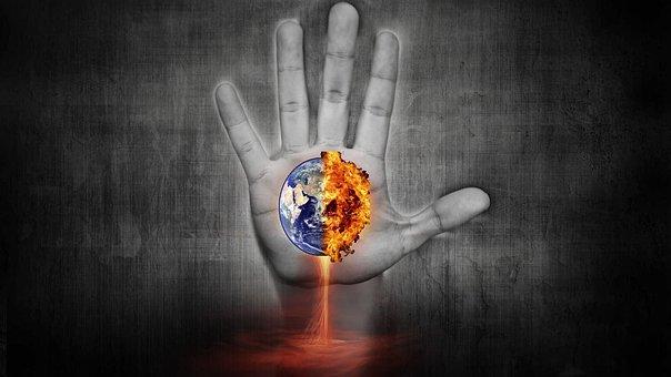 Doom, Earth, End, Hand, World, Destruction, Apocalypse