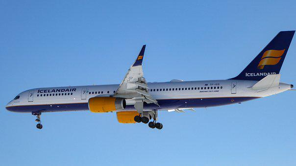 Icelandair, Aviation, Boeing, 757, Jet, Airplane