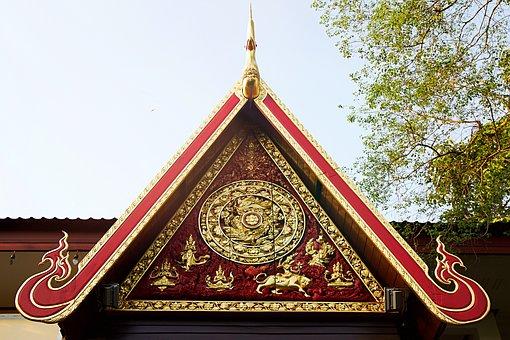 Chiang Rai, Thailand, Wat, Temple, Asia, Buddhism, Home