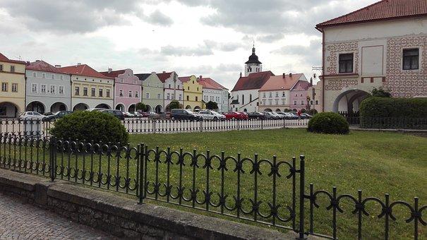 Square, City, Nove Mesto Nad Metuji, Historical