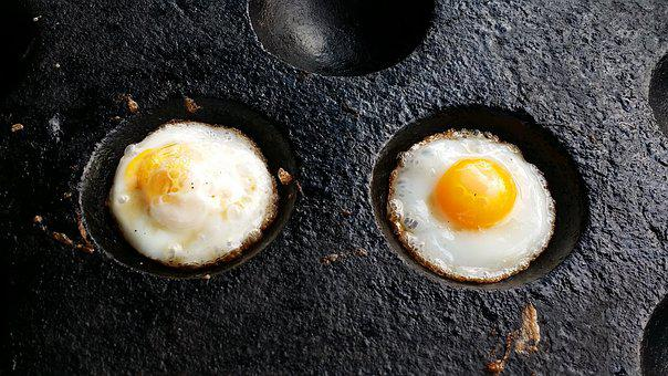 Eggs, Double, Breasts