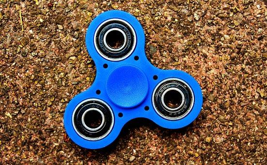 Fidget Spinner, Popular, Play, Toys, Turn