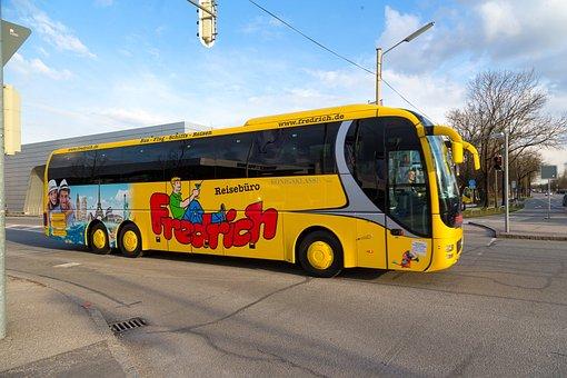 Coach, Bus, Holiday, Fredrich