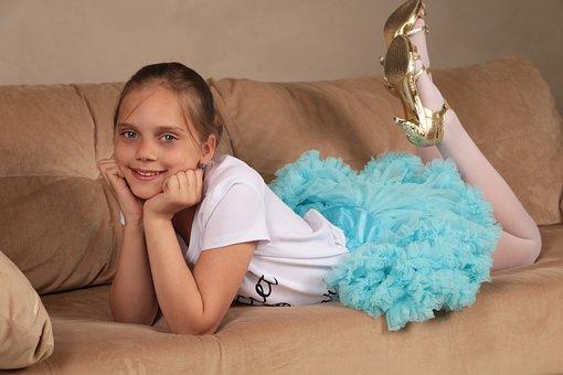 Girl, Beautiful, Young, Smile, Skirt, Photoshoot