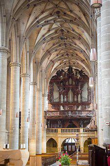 Swabian Gmünd, Münster, Gothic, Parler, Church, Organ