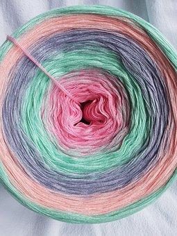 Wool, Bobbel, Hand Labor, Crochet, Knit