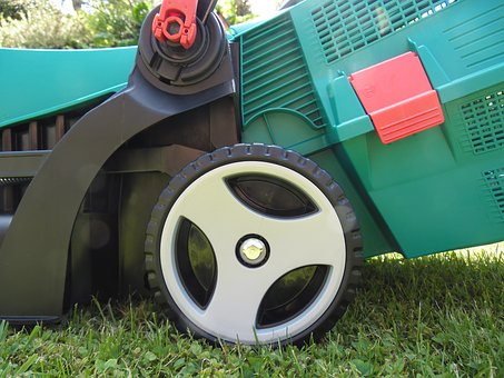 Lawn Mower, Garden, Rush, Manual Operation, Grass Box