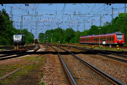 Railway System, Gleise, Rails, Railway, Travel, Train
