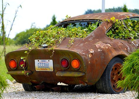 Stainless, Photo, Art, Rusted, Ailing, Rusty, Old