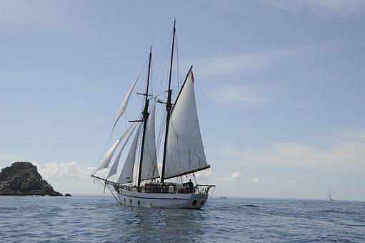 Sail, Traditional Sailer, Sailing Vessel