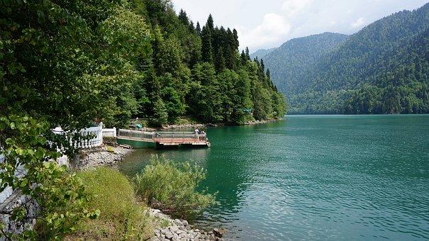 Lake Ritsa, Dacha, Stalin