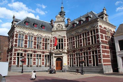 Building, Academy Building, University, Utrecht
