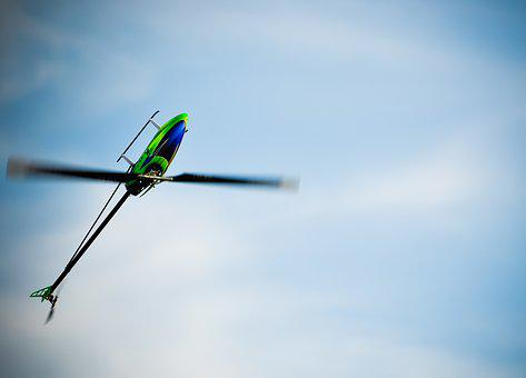 Remotely Controlled, Helicopter, Stunt, Air, Model