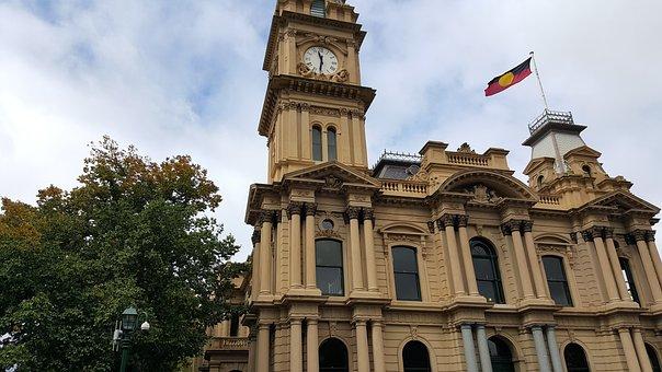 Town Hall, Bendigo, Australia, Architecture, Building