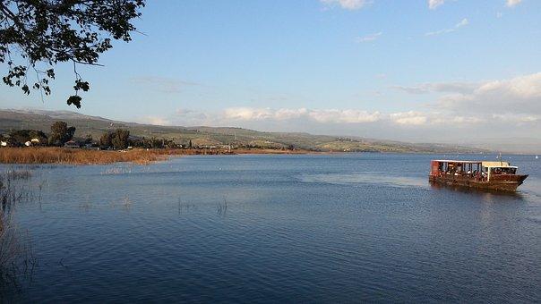 Israel, Tiberias, Boat