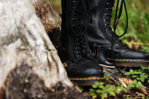 Boots, Tiny, Footwear, Forrest, Wood, Fashion, Dr
