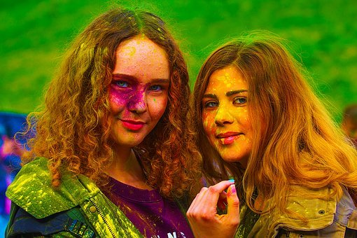 The Festival Of Colors, Holly, Moscow, 2017, Flashmob