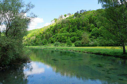 Blaubeuren, Germany, Nature, Forest, Landscape