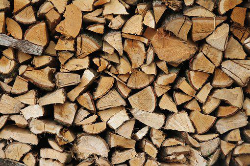Firewood, Fireplace, Wood For The Fireplace, Holzstapel