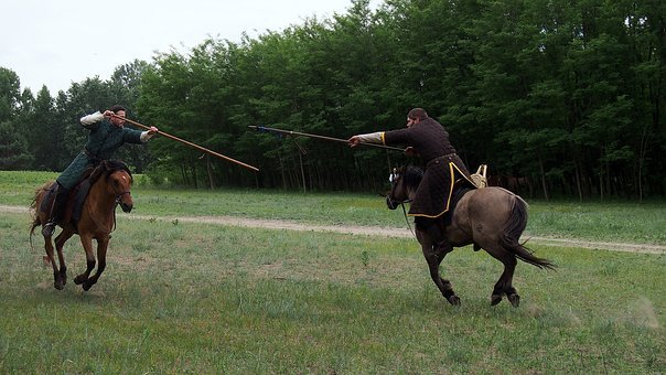Horse, Rider, Fight, Tradition, Horse Riding, Gallop