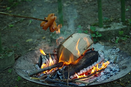 špekačky, Meat, Toasting, Grate, Grill