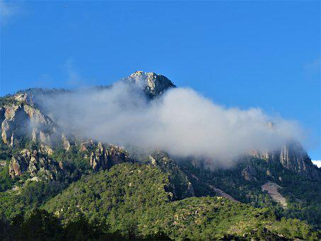 Mountain, Cloud, Landscape, Big Bend, Scenic