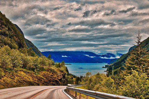 Landscape, Norway, Nature, View, Mountains, Rocks