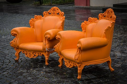 Chair, Chic, Seat, Noble, Majestic, Design