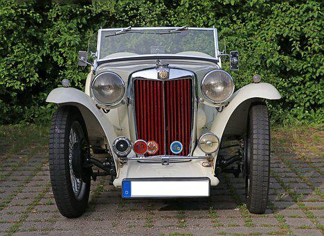 Auto, Oldtimer, Classic, Old, Automotive, Vehicles Mg