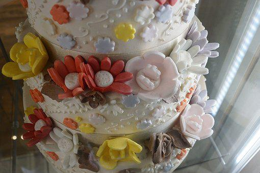 Cake, Flowers, Delicious, Ornament, Decoration, Marry