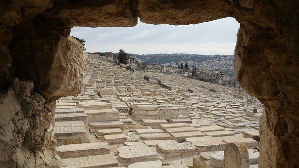 Israel, Jerusalem, The Mount Of Olives, Grave