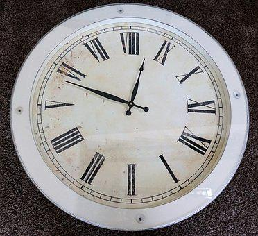 Clock, Time, One, Two, Three, Four, Five, Six, Age