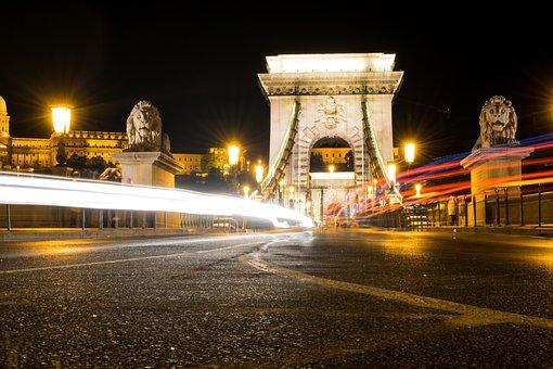 Hungary, Budapest, Europe, Tourism, Lights