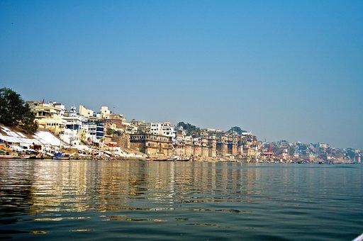 Varanasi, River, India, Religion, Travel, Holy, Ganga