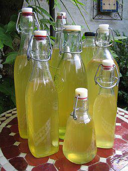 Vlierbloesemsiroop, Lemonade, Cooking