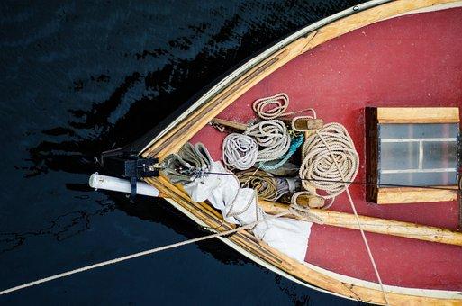 Boat, Ropes, Water, Ship, Marine, Sea, Nautical, Yacht