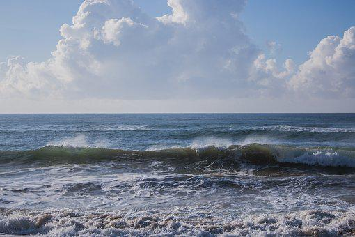 Sea, Ocean, Waves, Water, Nature, Blue, Travel, Summer