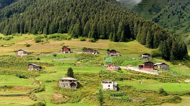 Eastern Black Sea, Rize, Ayder, Plateaus, Kaçkars