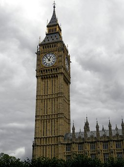 London, Big Ben, Clock Tower, Tourism