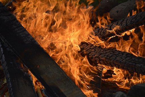 Fire, Burn, Flame, Heat, Wood Fire, Campfire, Burner