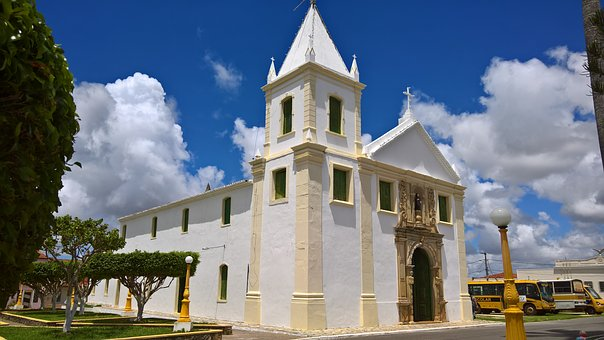Church, Santo Amaro Das Brotas, Sergipe