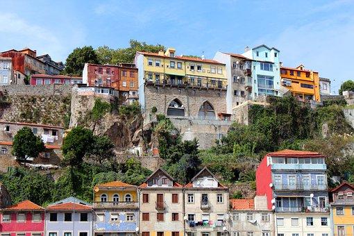 Homes, Colorful, Facade, Stone, Rock, Rocky