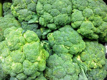 Broccoli, Produce, Fresh, Food, Vegetable, Green