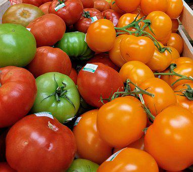 Tomato, Heirloom, Produce, Fresh, Raw, Food, Vegetable